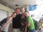 Me and my little family whilst on holidays in the USA in 2010
